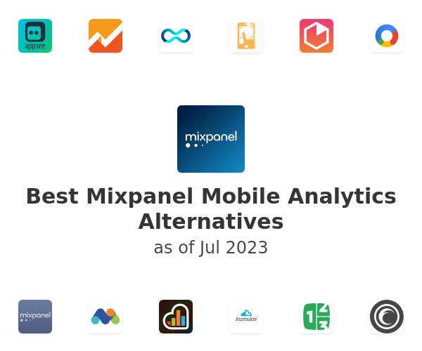 Best Mixpanel Mobile Analytics Alternatives
