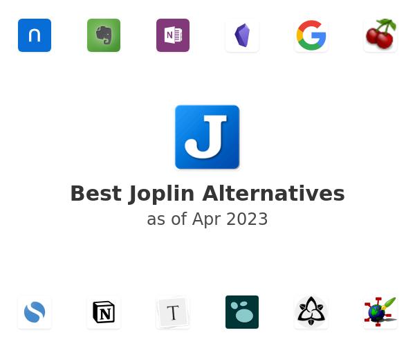 Best Joplin Alternatives