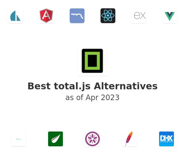 Best total.js Alternatives