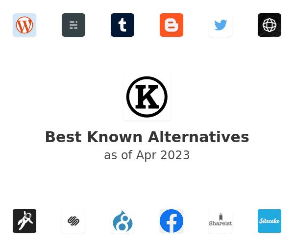 Best Known Alternatives