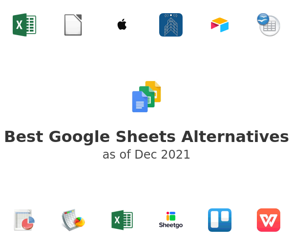 Best Google Sheets Alternatives