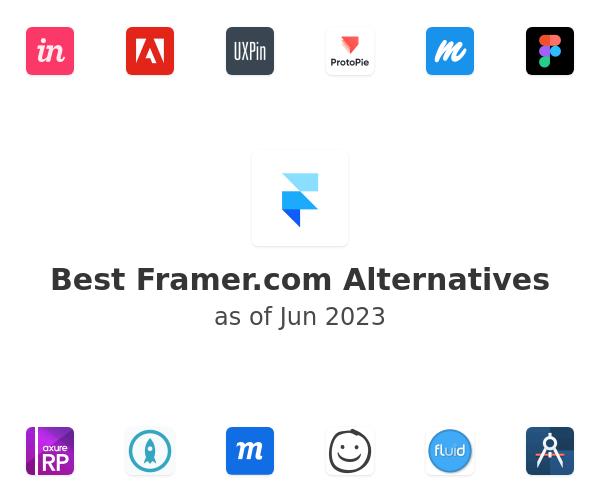 Best Framer Alternatives