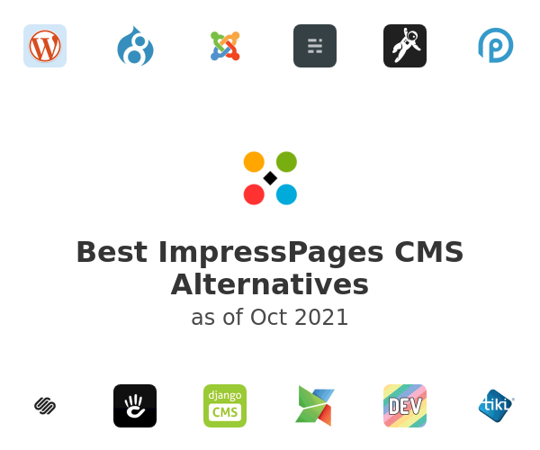 Best ImpressPages CMS Alternatives