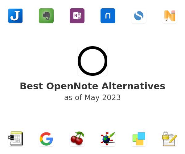 Best OpenNote Alternatives