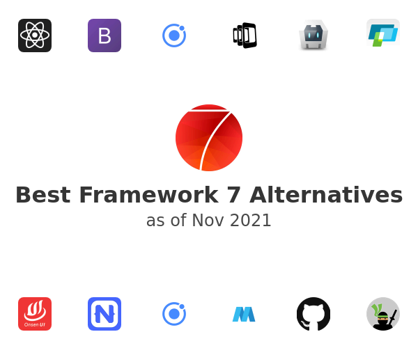 Best Framework 7 Alternatives