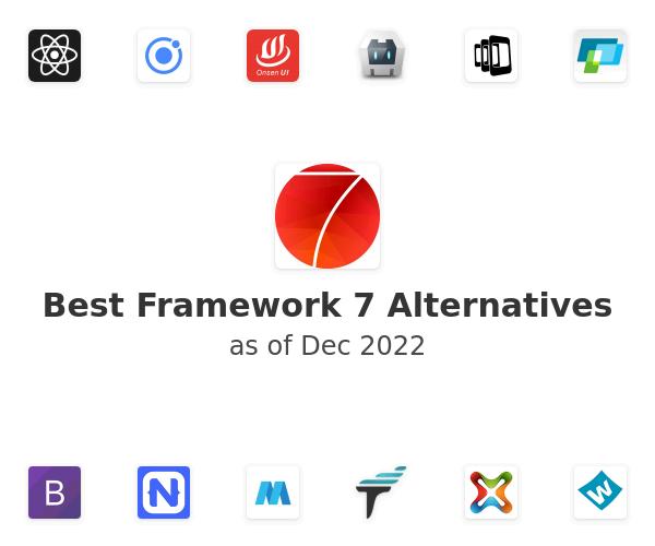 Best Framework 7 Alternatives
