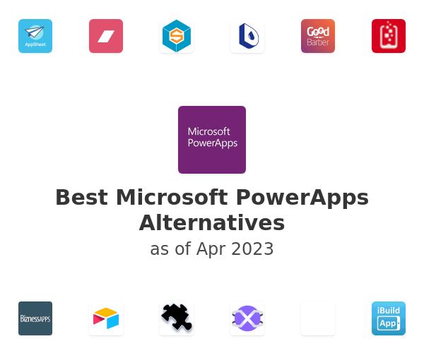 Best Microsoft PowerApps Alternatives