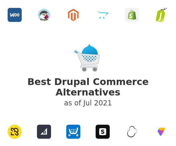 Best Drupal Commerce Alternatives
