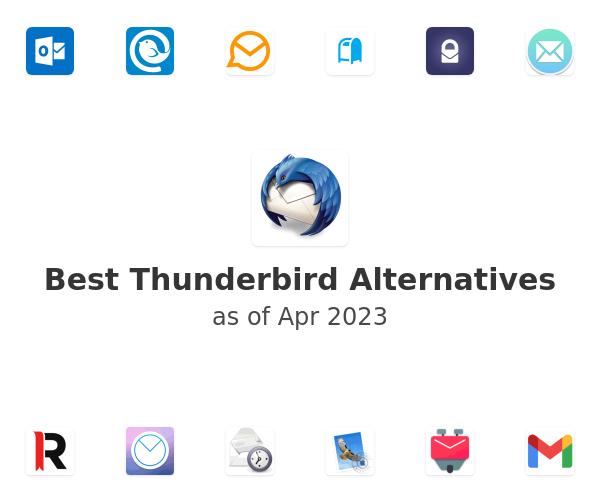 Best Thunderbird Alternatives