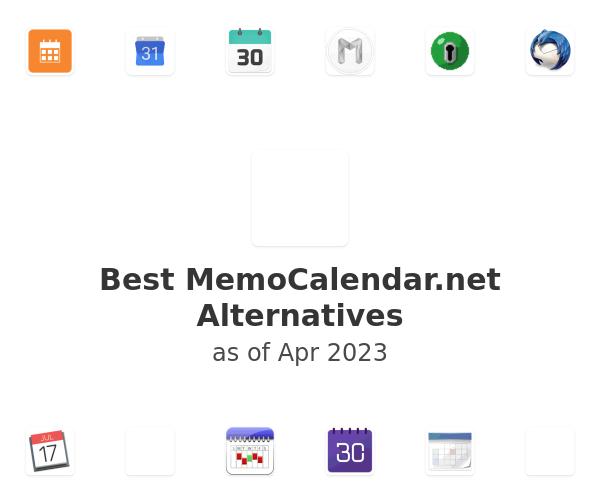 Best MemoCalendar.net Alternatives