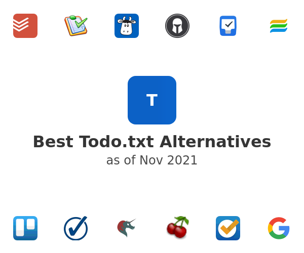 Best Todo.txt Alternatives