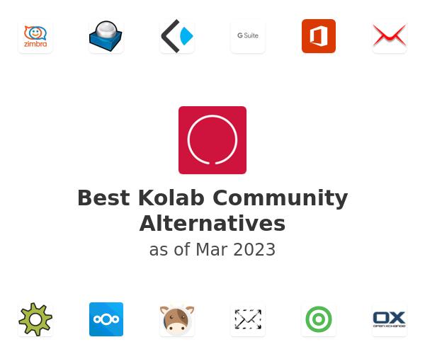 Best Kolab Community Alternatives