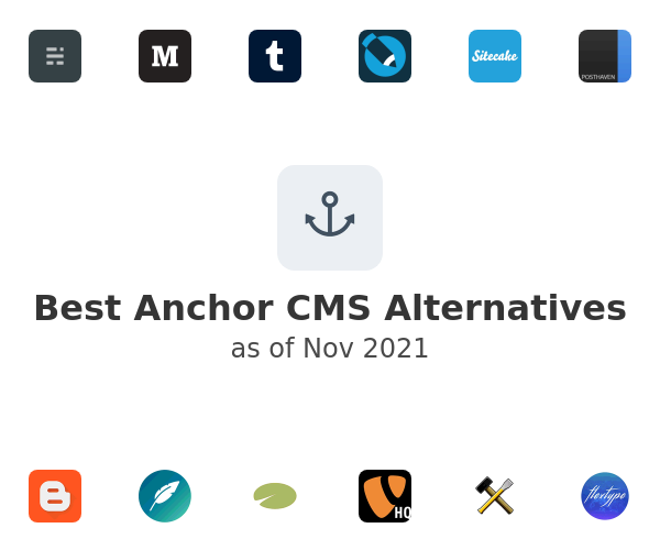 Best Anchor CMS Alternatives