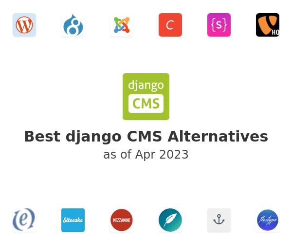 Best django CMS Alternatives