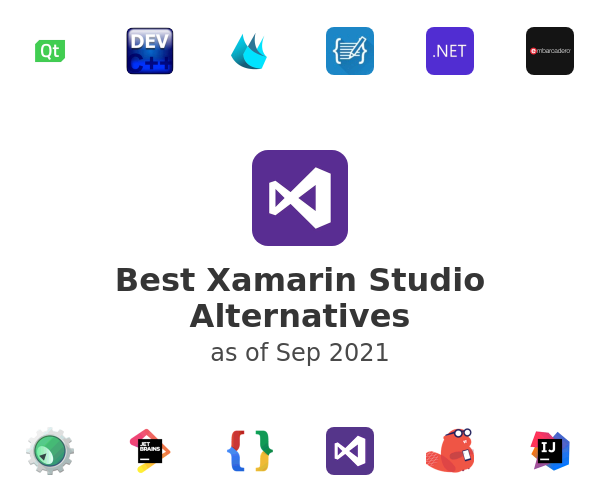 Best Xamarin Studio Alternatives