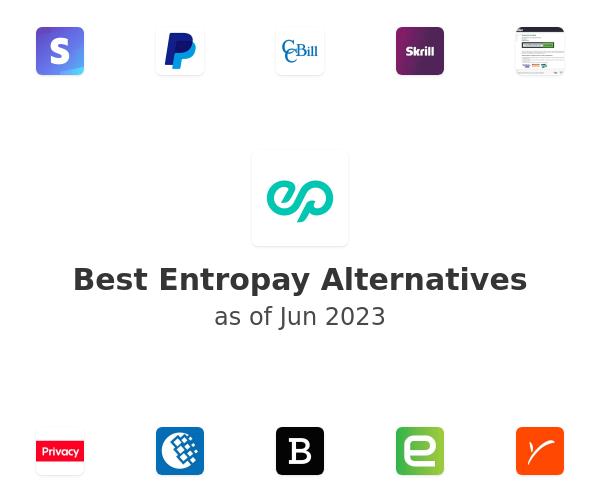Best Entropay Alternatives