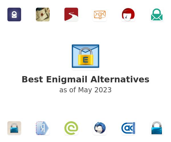 Best Enigmail Alternatives