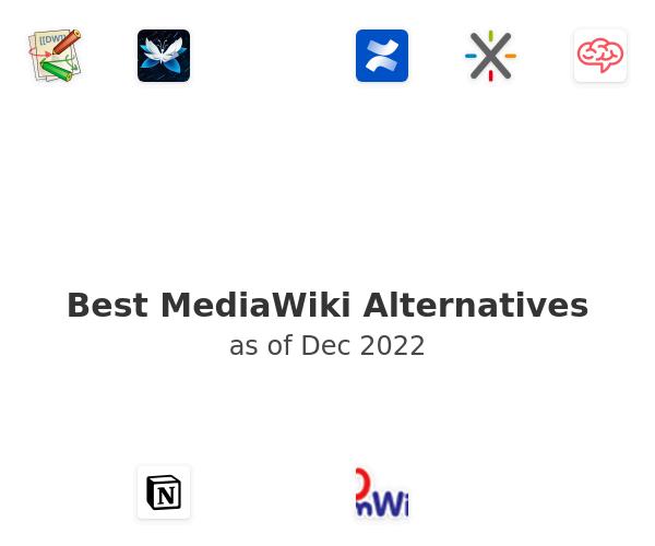 Best MediaWiki Alternatives