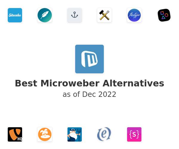 Best Microweber Alternatives