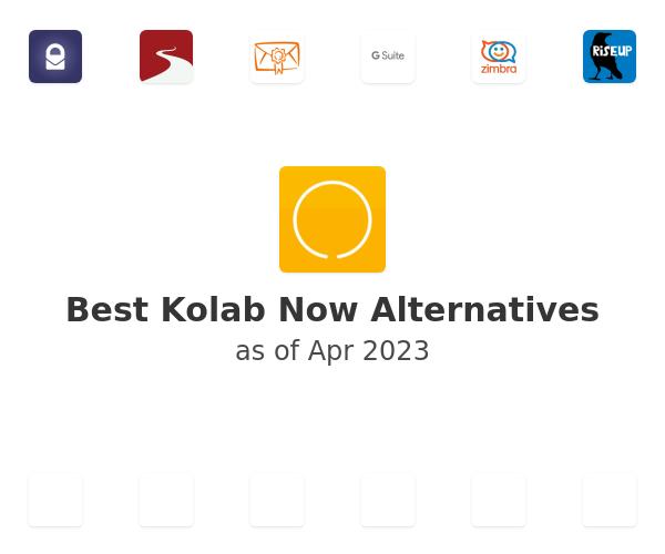 Best Kolab Now Alternatives