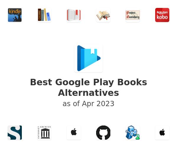 Best Google Play Books Alternatives