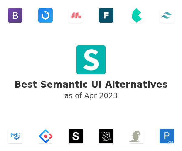 Best Semantic UI Alternatives