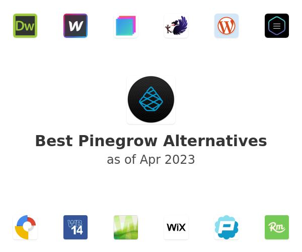 Best Pinegrow Web Editor Alternatives