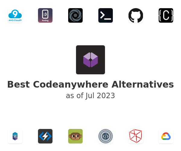 Best Codeanywhere Alternatives