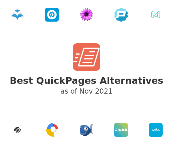Best QuickPages Alternatives