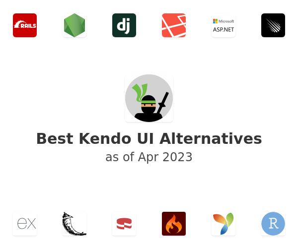 Best Kendo UI Alternatives