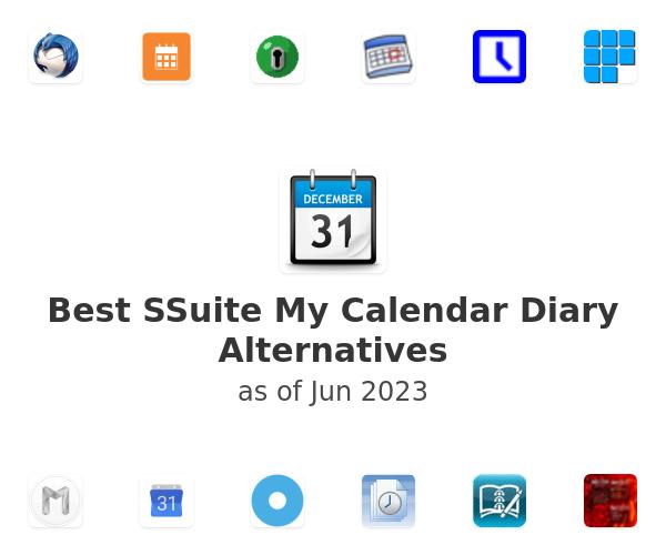 Best SSuite My Calendar Diary Alternatives
