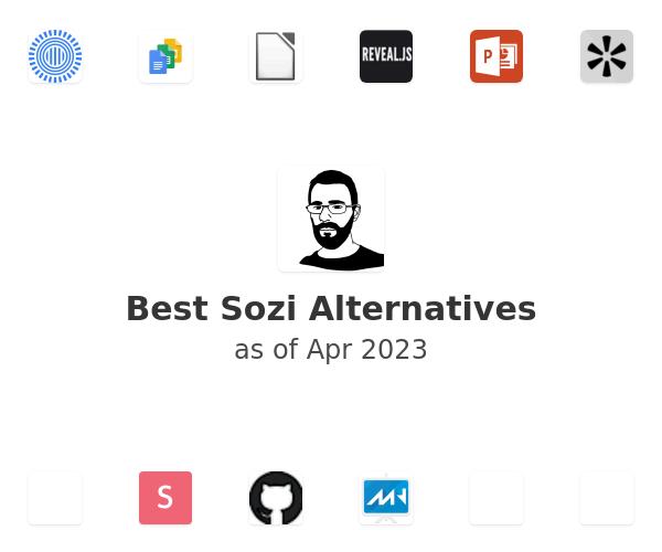 Best Sozi Alternatives