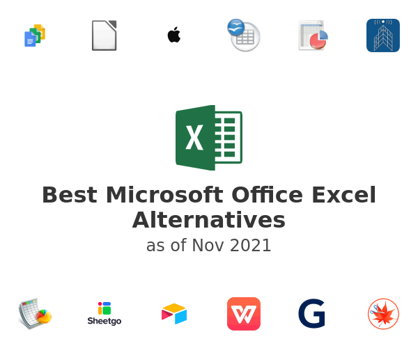 Best Microsoft Office Excel Alternatives