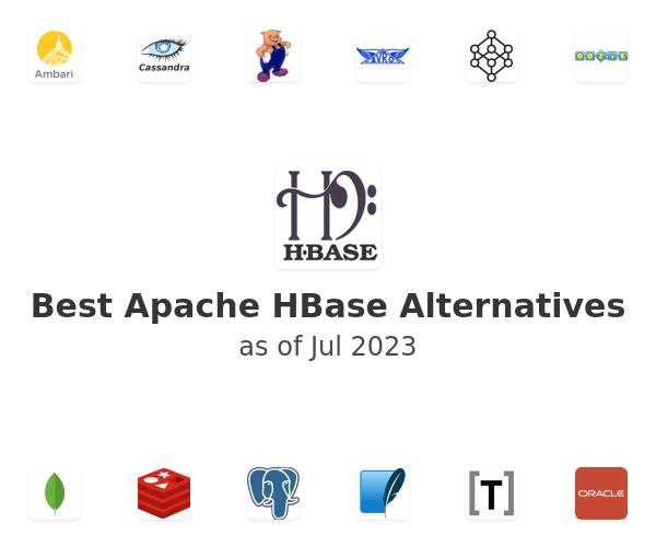 Best Apache HBase Alternatives
