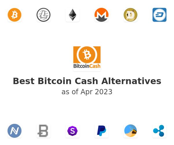 Best Bitcoin Cash Alternatives