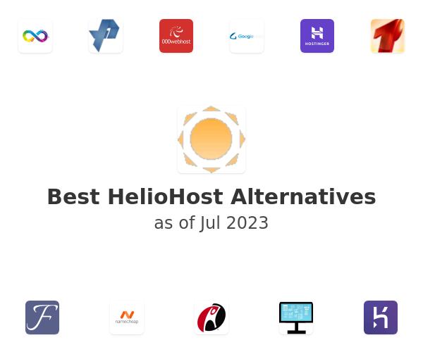 Best HelioHost Alternatives