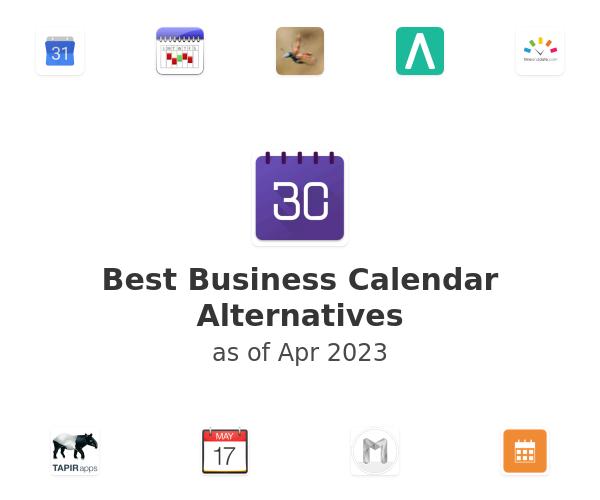 Best Business Calendar Alternatives