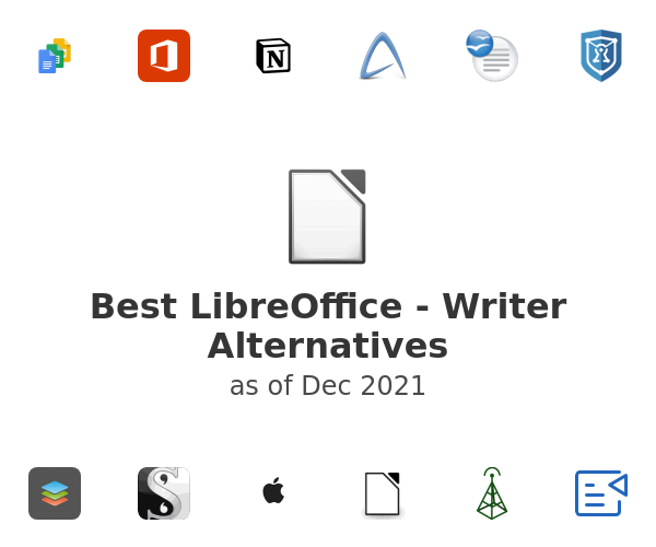Best LibreOffice - Writer Alternatives