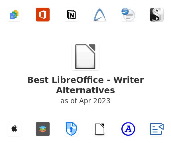 Best LibreOffice - Writer Alternatives