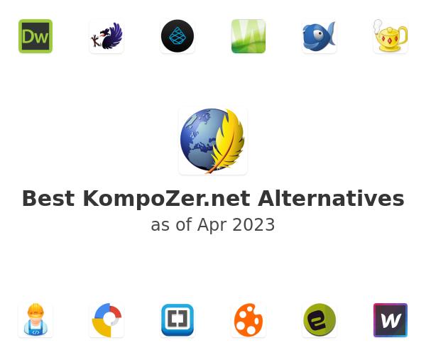 Best KompoZer.net Alternatives