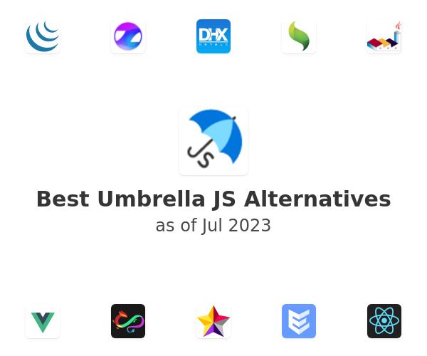 Best Umbrella JS Alternatives