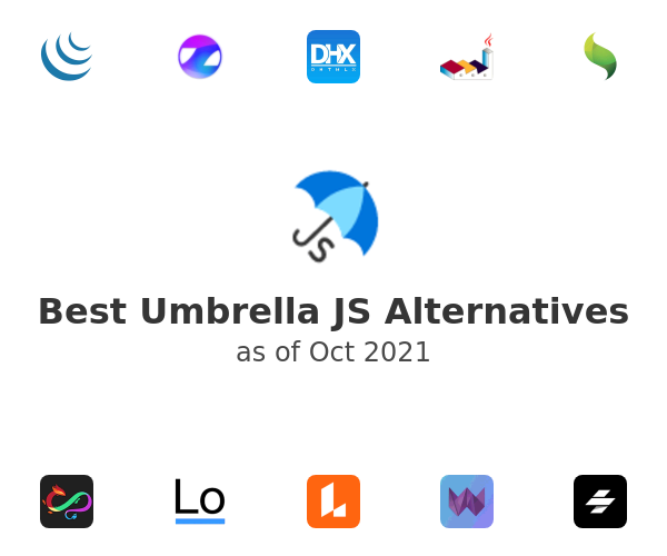 Best Umbrella JS Alternatives