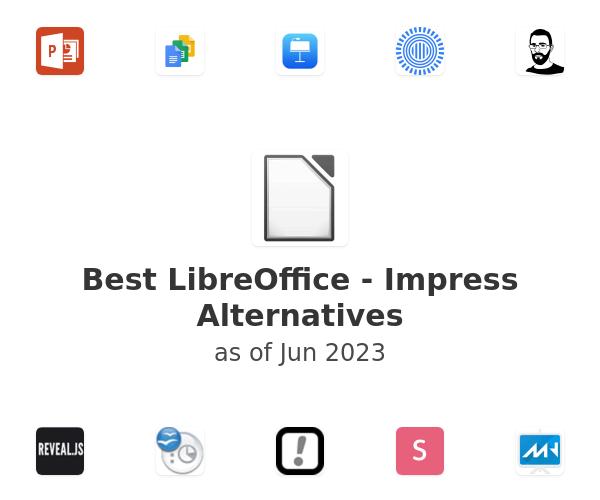 Best LibreOffice - Impress Alternatives