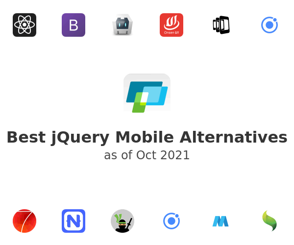 Best jQuery Mobile Alternatives