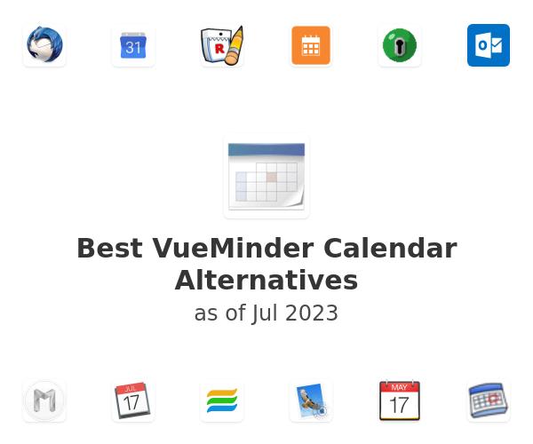 Best VueMinder Calendar Alternatives
