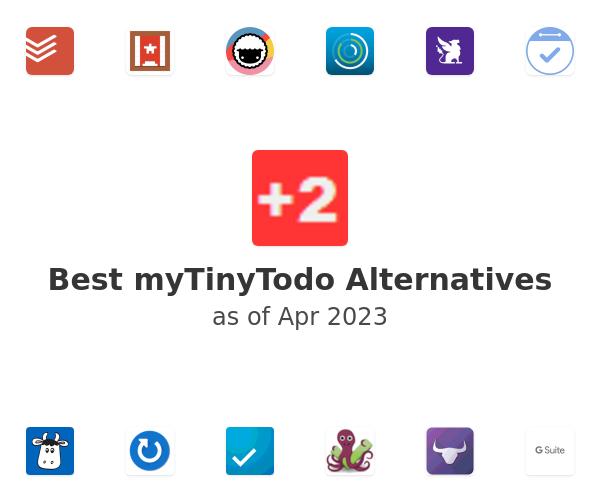 Best myTinyTodo Alternatives