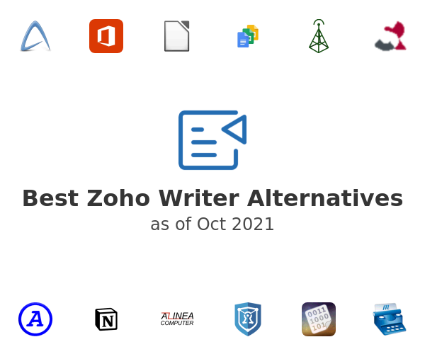 Best Zoho Writer Alternatives