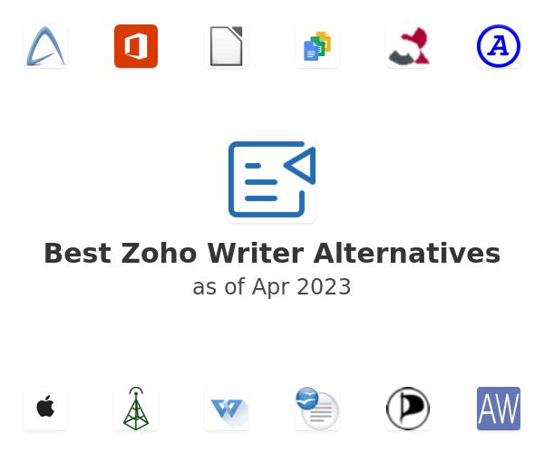 Best Zoho Writer Alternatives