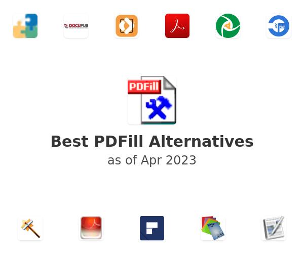 Best PDFill Alternatives