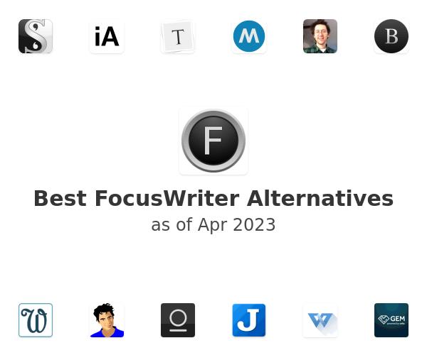 Best FocusWriter Alternatives
